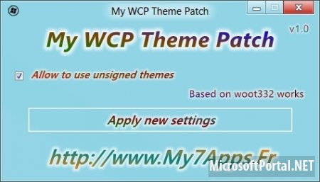 My WCP Theme Patch