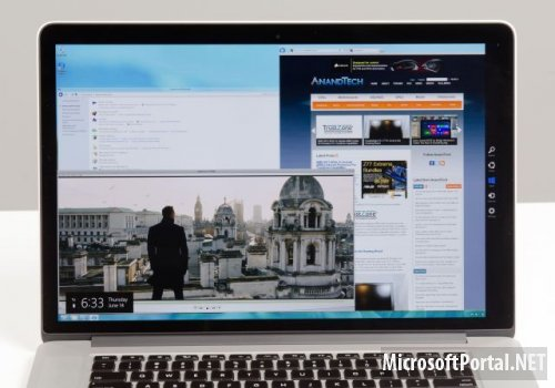 На новый MacBook Pro установили Windows 8