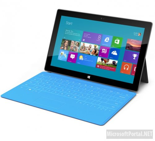 Цены на Microsoft Surface с Windows RT