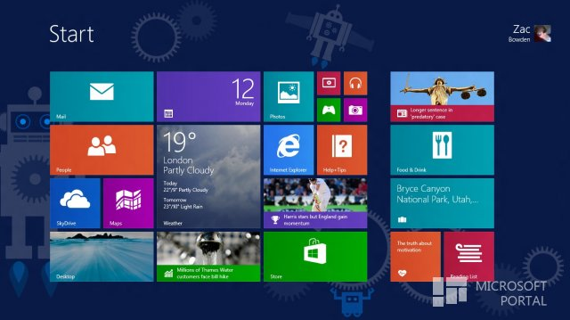 Видео Windows 8.1 Build 9477