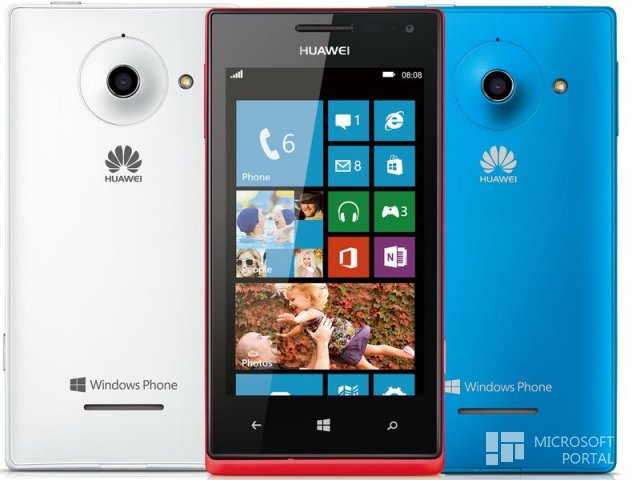 Huawei выпустит смартфон на Windows Phone 8