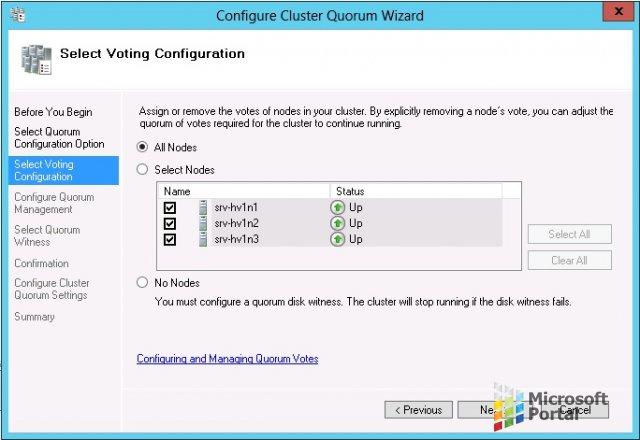 Отказоустойчивая кластеризация в Windows Server 2012 R2