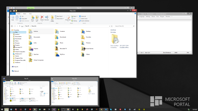 Windows 8.1 Dark