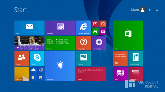 Обзор Windows 8.1 GDR Beta