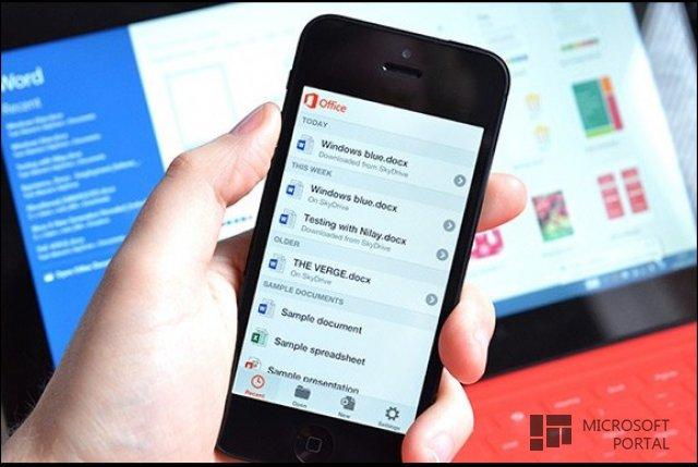 Office для iPad и iPhone полностью готов к релизу