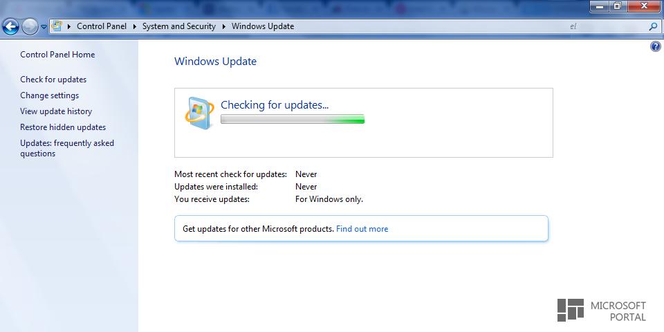 Microsoft выпустила патч для Windows Update