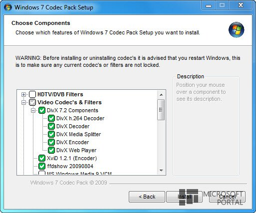 Windows 7 Codec Pack 4.1.0
