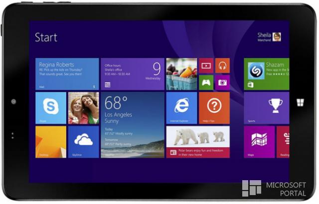 Windows 10 для планшета irbis tw81