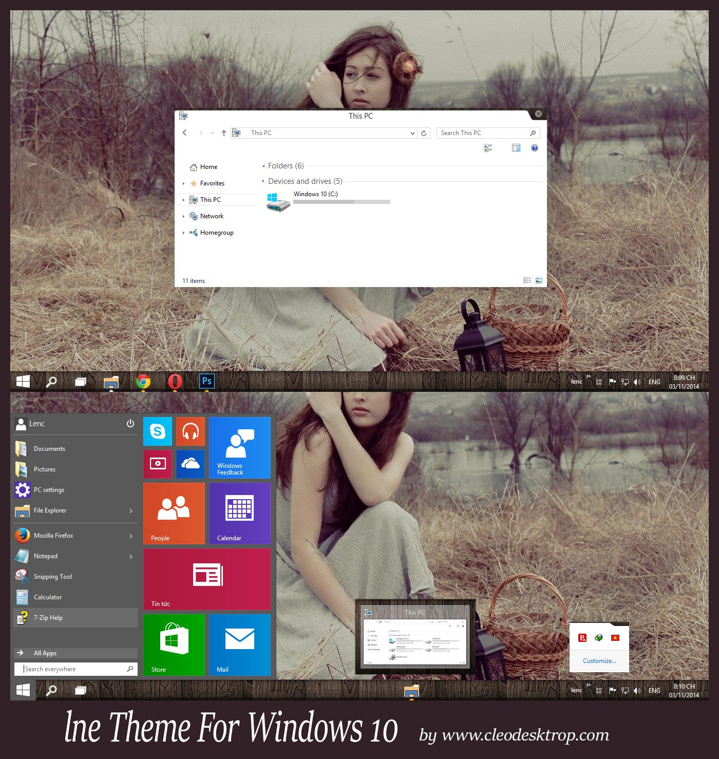 Тему Под Windows Xp
