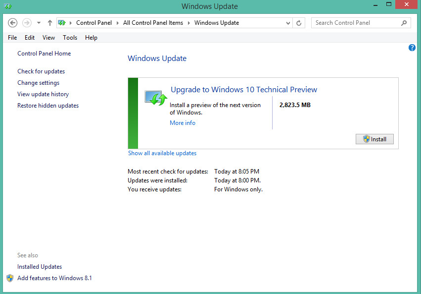 Windows 8. 1 single language with update x64 (oem) (2014) [русский.