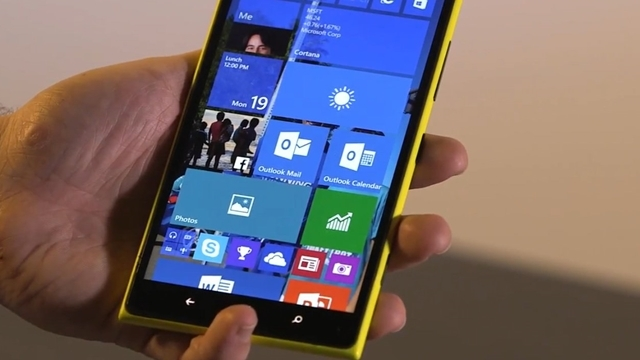Пресс-релиз сборки Windows 10 Mobile Build 10080