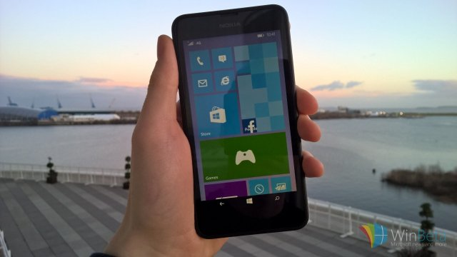 Сборка Windows 10 Mobile Build 10166 на видео