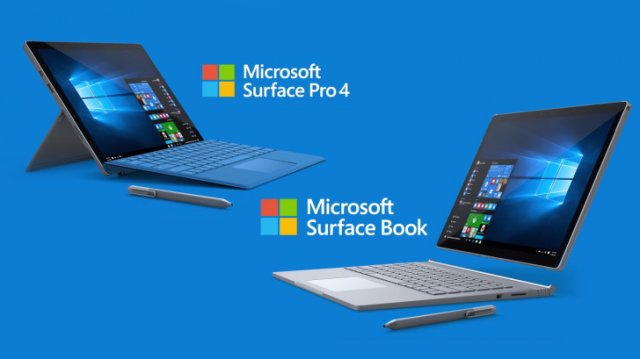 Microsoft выпустила очередное обновление для Surface Book и Surface Pro 4