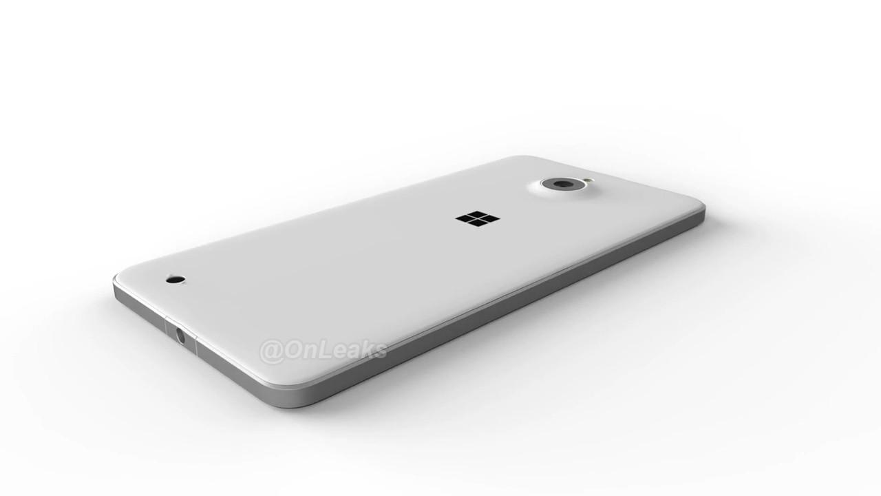 В сети оказались рендеры Lumia 850