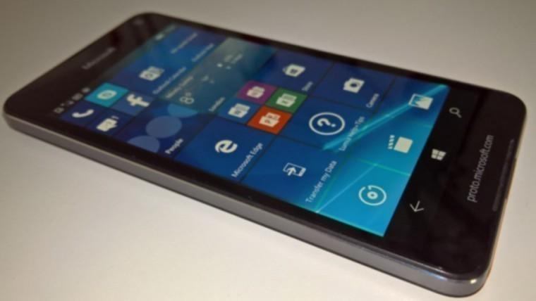 Рендер ицена Microsoft Lumia 650— Утечка