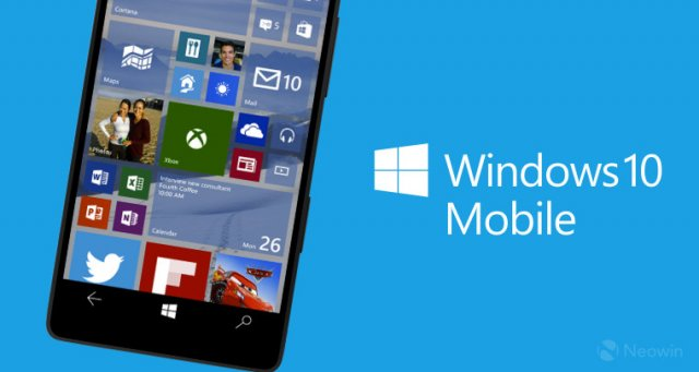 Пресс-релиз сборки Windows 10 Mobile Insider Preview Build 10586.122