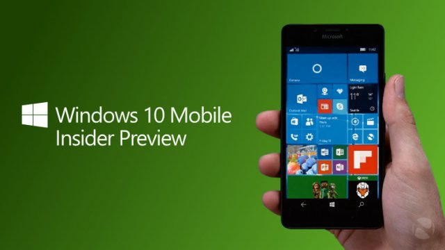 Сборка Windows 10 Mobile Insider Preview Build 14283 на видео
