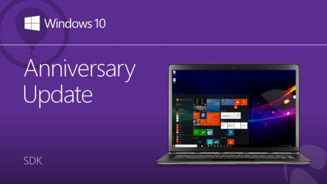 Microsoft выпустила Windows 10 Anniversary Update SDK Preview Build 14332