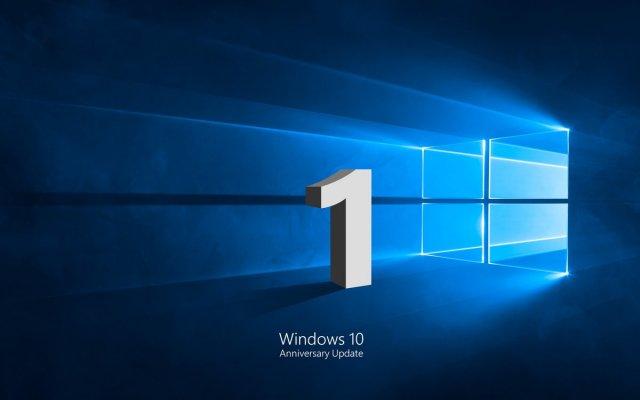Windows 10 празднует свой первый день рождения