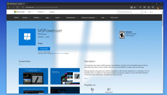 Windows Store получил новый дизайн в сети