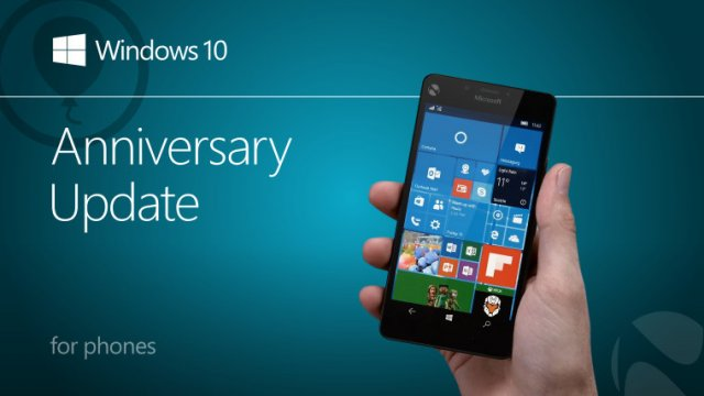 Microsoft: Windows 10 Mobile Anniversary Update не выйдет сегодня