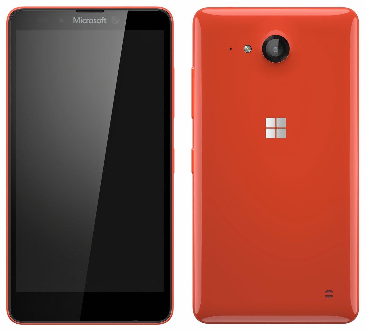 Рендер телефона Microsoft Lumia 750 от @evleaks