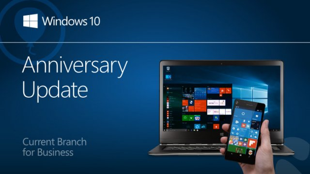 Microsoft выпустила Windows 10 Anniversary Update для Current Branch for Business