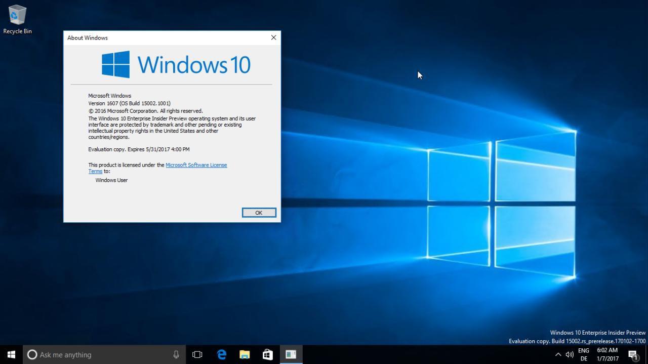 Скачать новую сборку windows 10