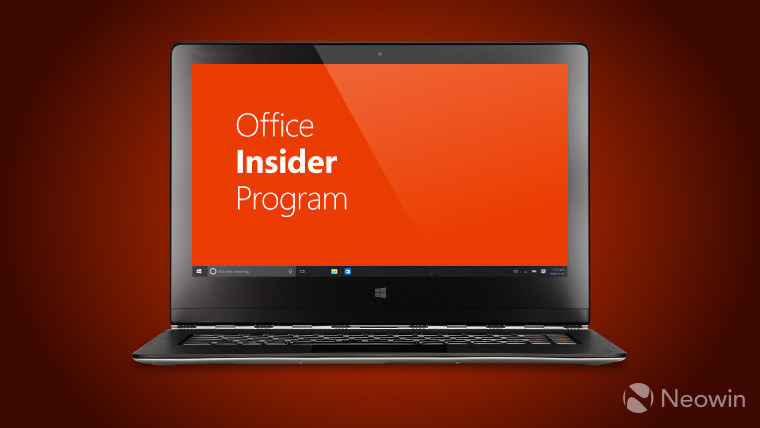 Новая сборка  Office Insider Preview доступна для Windows
