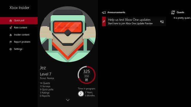 Известные проблемы в новой сборке Xbox One Insider Preview (и ещё кое-что)