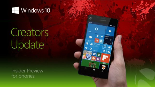 Компания Microsoft выпустила сборку Windows 10 Mobile Insider Preview Build 15043 для кольца Slow