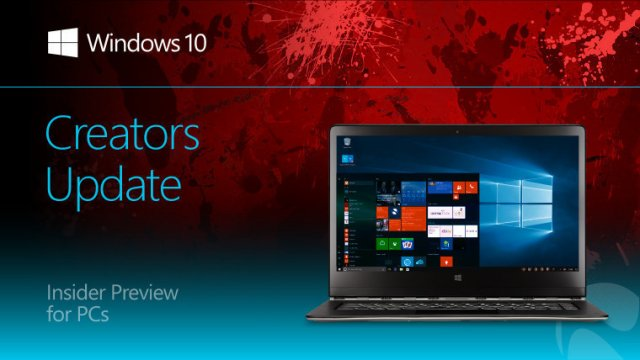Пресс-релиз сборки Windows 10 Insider Preview Build 15060