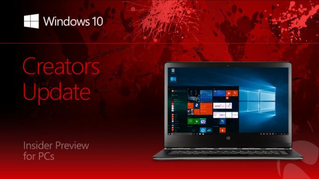 Пресс-релиз сборки Windows 10 Insider Preview Build 15061