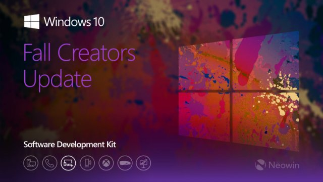 Компания Microsoft выпустила Windows 10 SDK Preview Build 16257