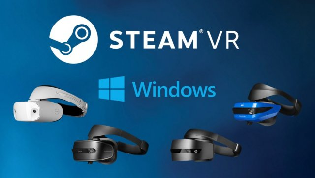 Доклад: поддержка Steam для гарнитур Windows VR не будет готова во время их релиза
