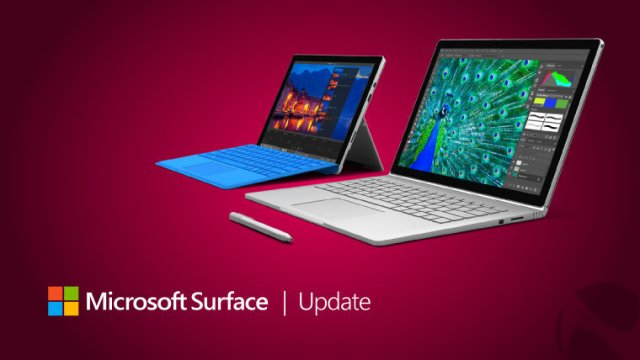 Компания Microsoft обновила Surface Studio, Book и Pro 4