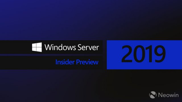 Microsoft выпустила сборку  Windows Server 2019 Insider Preview Build 17639