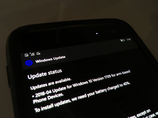 Microsoft выпустила Windows 10 Mobile Build 15254.369