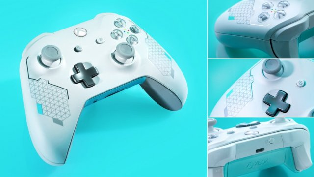 Xbox Wireless Controller – Sport White Special Edition доступен для покупки в Microsoft Store