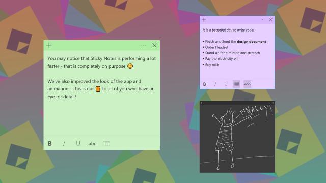 1534677072 stciyk notes 3 0 - Microsoft планирует выпустить крупное обновление для приложения «Sticky Notes»