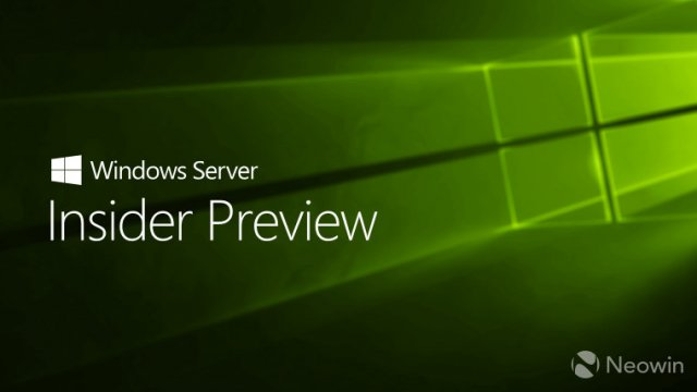 Microsoft выпустила Windows Server vNext Insider Preview Build 18334