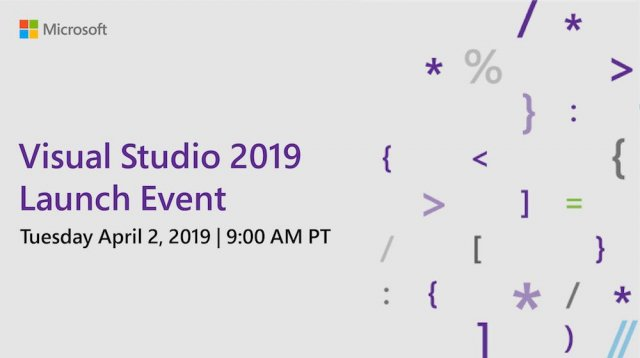 Microsoft выпустит Visual Studio 2019 2 апреля