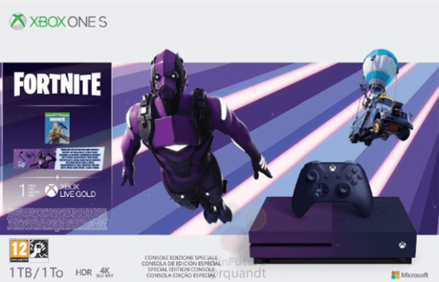 Microsoft выпустит Xbox One S Fortnite Limited Edition