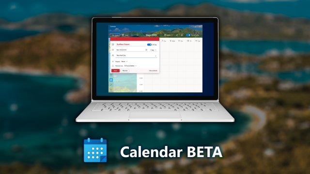 В сеть попали скриншоты нового интерфейса приложения «Календарь» для Windows 10