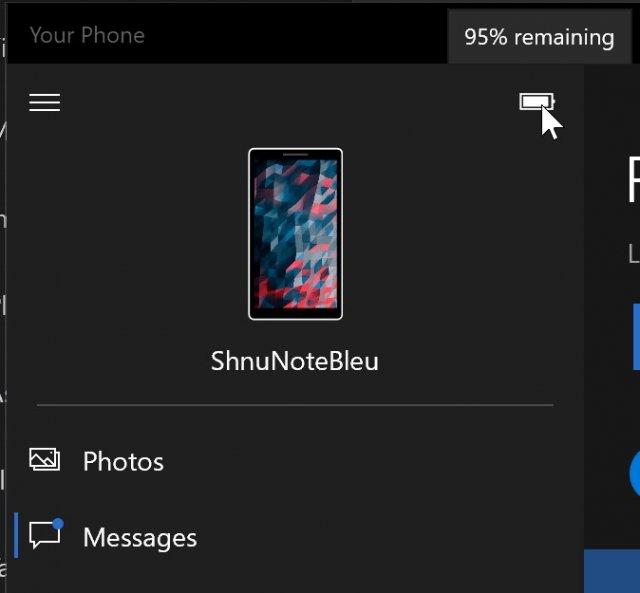 Microsoft обновила приложение «Ваш телефон» на стороне сервера