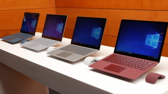 Microsoft может выпустить 15-дюймовую версию Surface Laptop 3