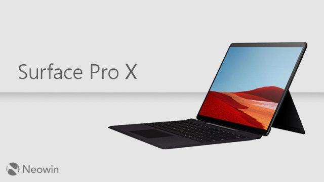 Microsoft выпустила обновления для Surface Laptop 3 и Surface Pro X
