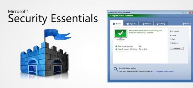 Microsoft Security Essentials продолжит получать обновления после окончания поддержки Windows 7