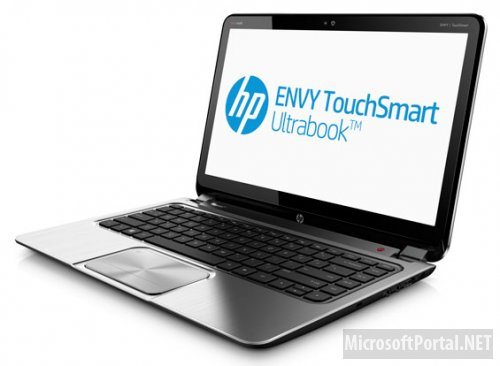 Ультрабук ENVY TouchSmart 4 на Windows 8