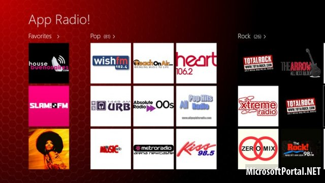 Windows Store: App Radio